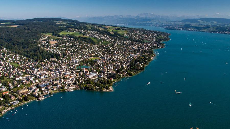 Zürichsee-Panorama