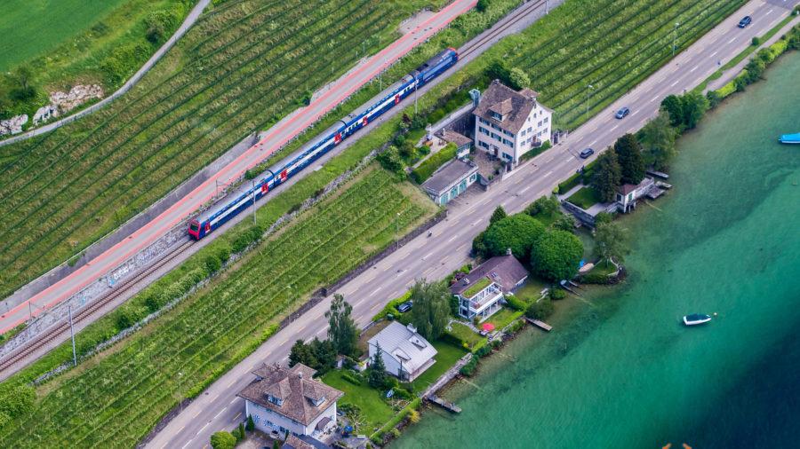 S-Bahn am Zürichsee