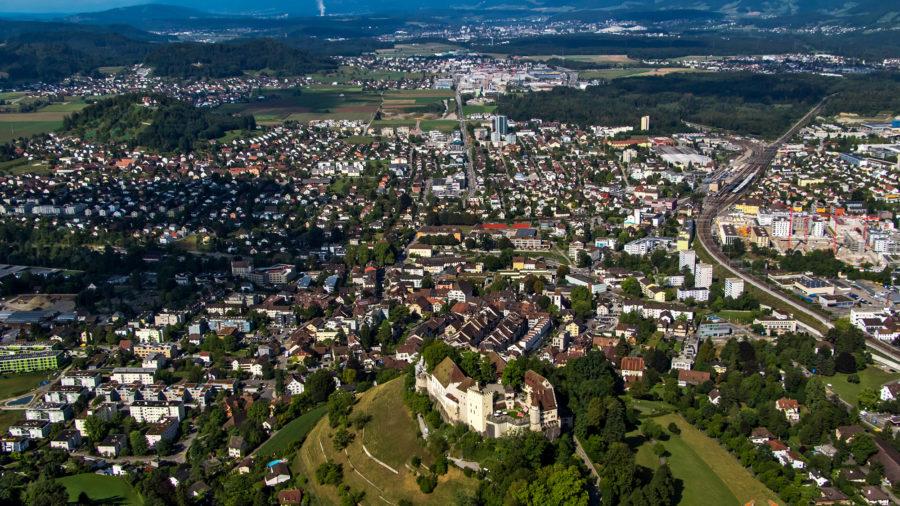 Lenzburg-Panorama