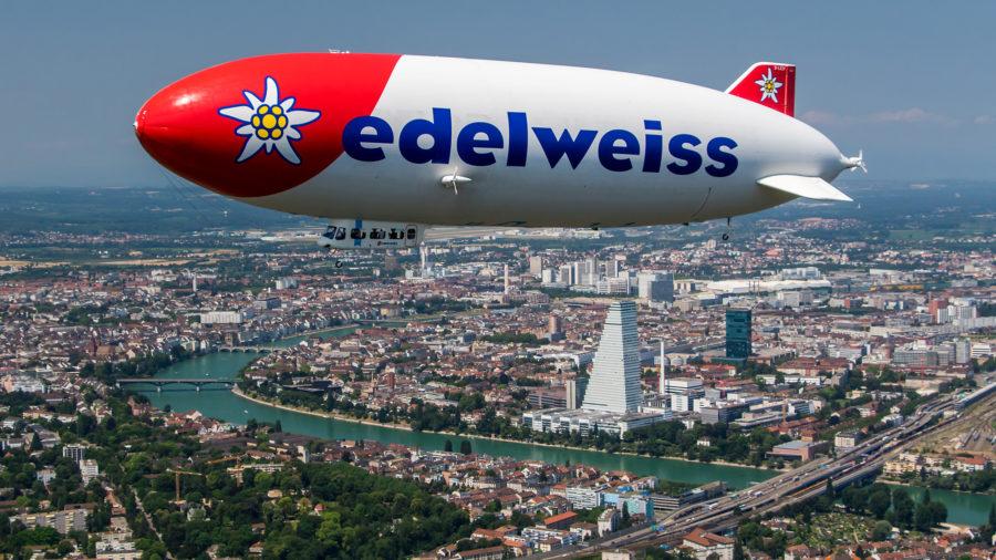 Zeppelin über Basel