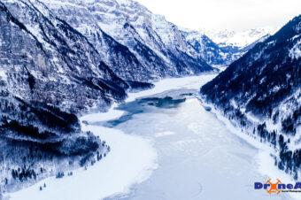 Winterlicher Klöntalersee