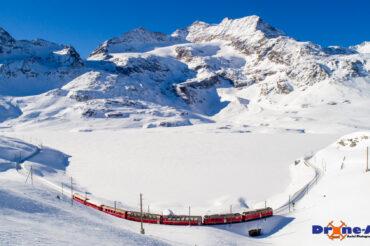 Winterliche Bernina