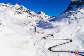 Bergfahrt am Julierpass